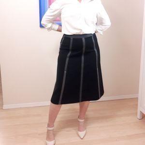 Lafayette A-Line Midi Skirt